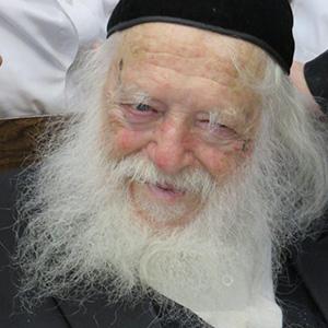 Rav 'Haïm Kanievsky chlita